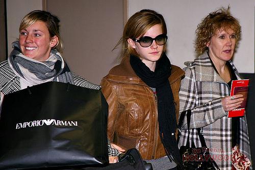 Emma Watson LAX Arrival