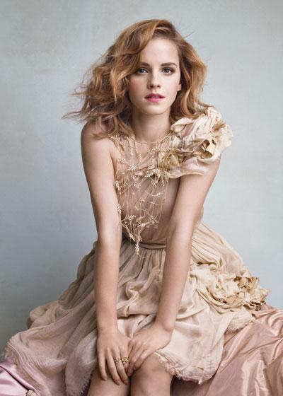 Evgenia Peretz and Patrick Demarchelier spotlight Emma Watson as the star of